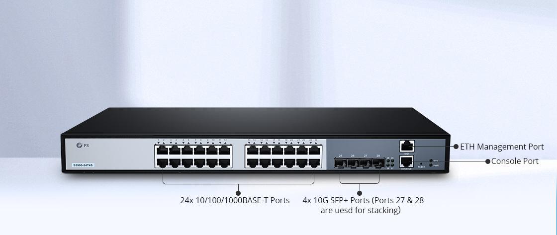 Switches 1G/10G Switch Gigabit con enlace ascendente 10G de alta velocidad