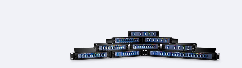 FMU series CWDM & DWDM MUX DEMUX expanding your network horizons