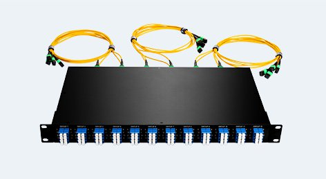 40G MTP-LC Breakout Patch Panel