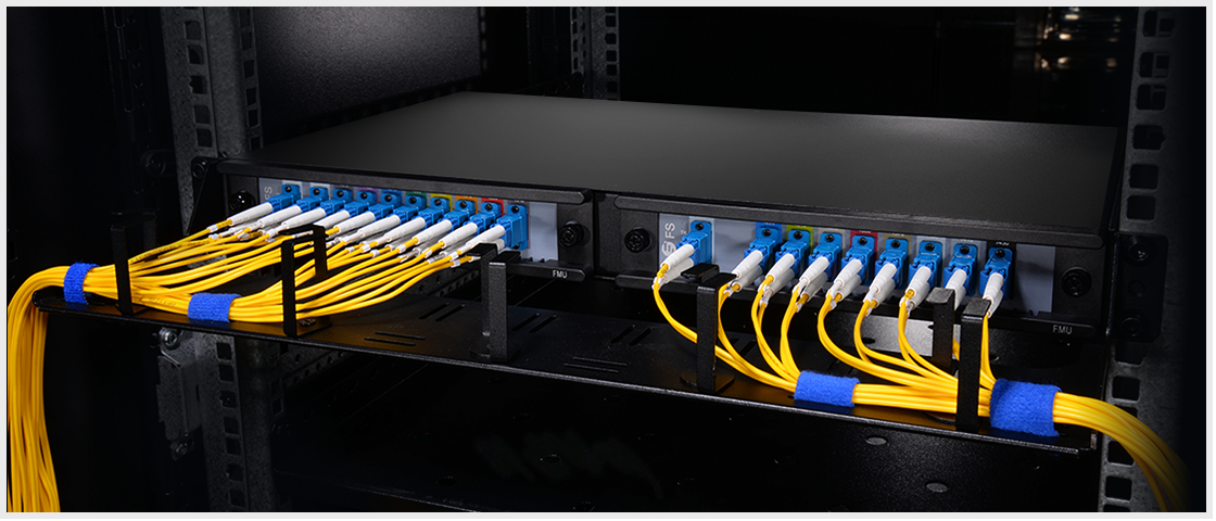 CWDM MUX DEMUX  On the Importance of Cable Management