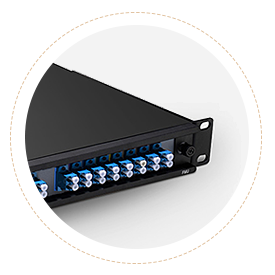CWDM MUX DEMUX High Degree of Protection