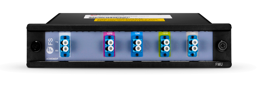 CWDM MUX DEMUX  Mux/Demux 4 Channels over Dual Fiber