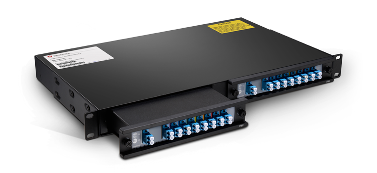 CWDM MUX DEMUX   Two Modules Fit in One 1U 19'' /23'' Rack Mount