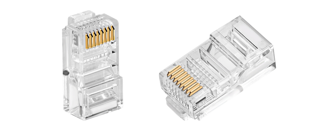 Connectors/Plugs  Cat5e Unshielded RJ45 Modular Plug Designed for Cabling