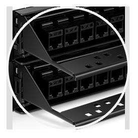 Cat6 Patch Panels Cable Management