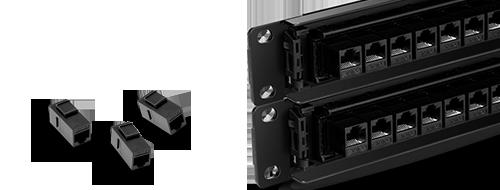 Cat6 Patch Panels  Module Design