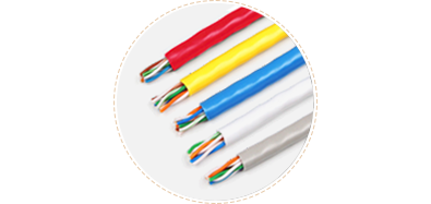 Cat5e Bulk Cables Gray, blue, white, red and yellow are available