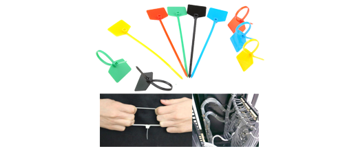 Cable Ties  UV-stabilized Nylon Material