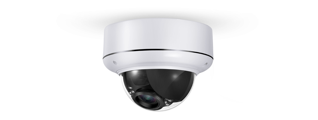 Surveillance Camera  4MP Indoor/Outdoor Varifocal Dome IP Camera With Infrared & Optical Zoom