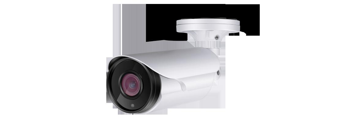 Surveillance  4MP Indoor/Outdoor Varifocal Bullet IP Cameras With Infrared & Optical Zoom