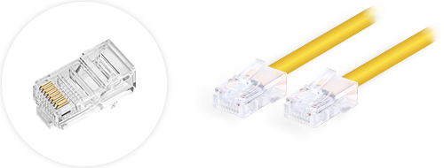 Cat6 Patch Cables  4. Gold-plated connectors design