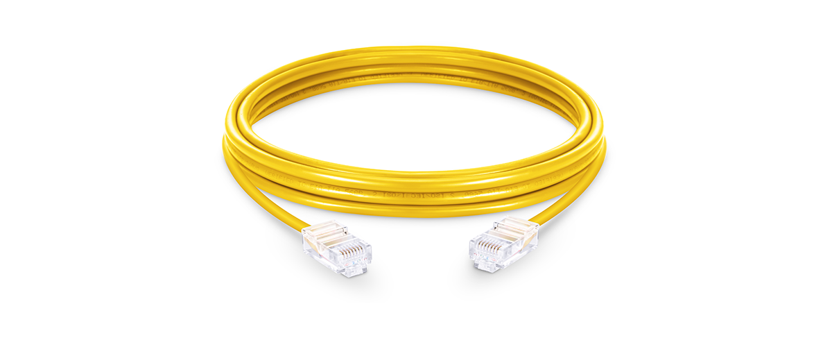 Cat5e Patch Cables  Cat5e Non-booted Unshielded (UTP) PVC Ethernet Network Patch Cable