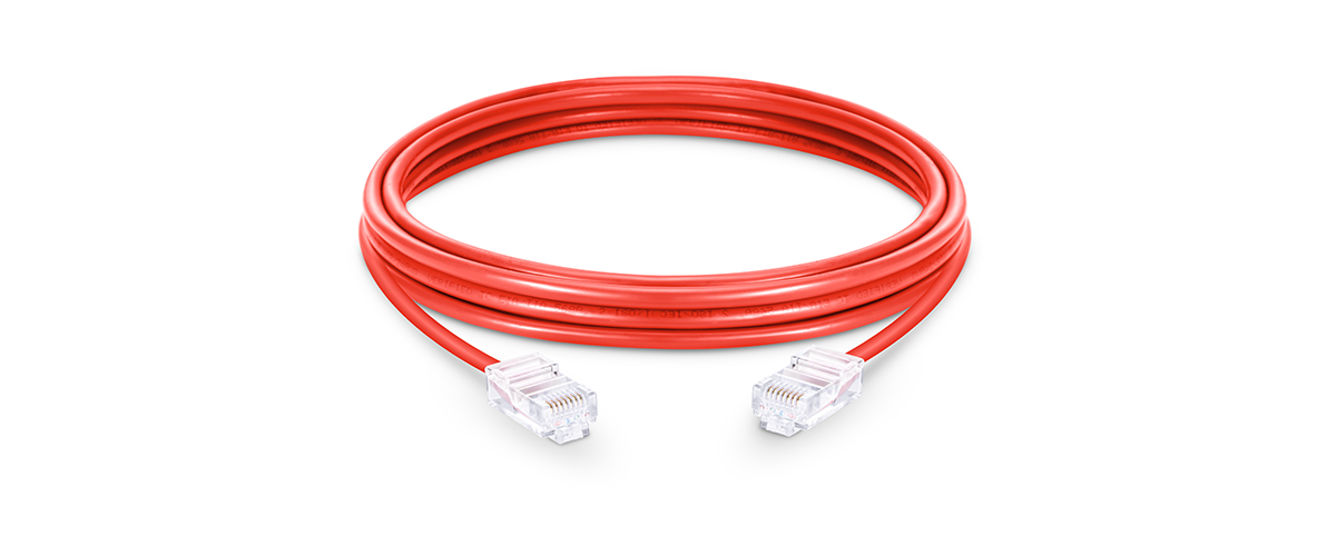 Cables de red cat6 Cable de red Ethernet (UTP) Cat6 sin bota sin blindaje