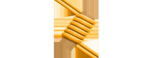 Cables breakout MTP®/MPO-LC  3. Insensible a la curvatura de fibra & LSZH cubierta