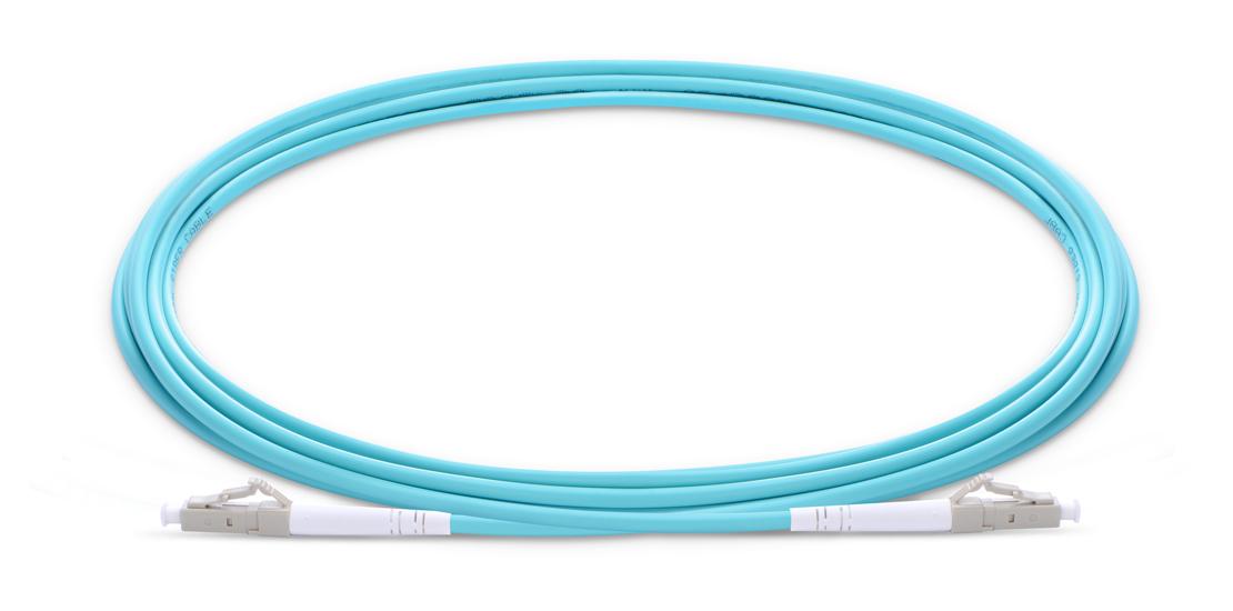 OM4 40 100Gb 50/125 Multimode  Industry Standard Flammability Rating OFNR (Riser) Jacket Fiber Optic Cable