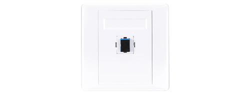 Fibre Optic Wall Plates Flame Retardant Material