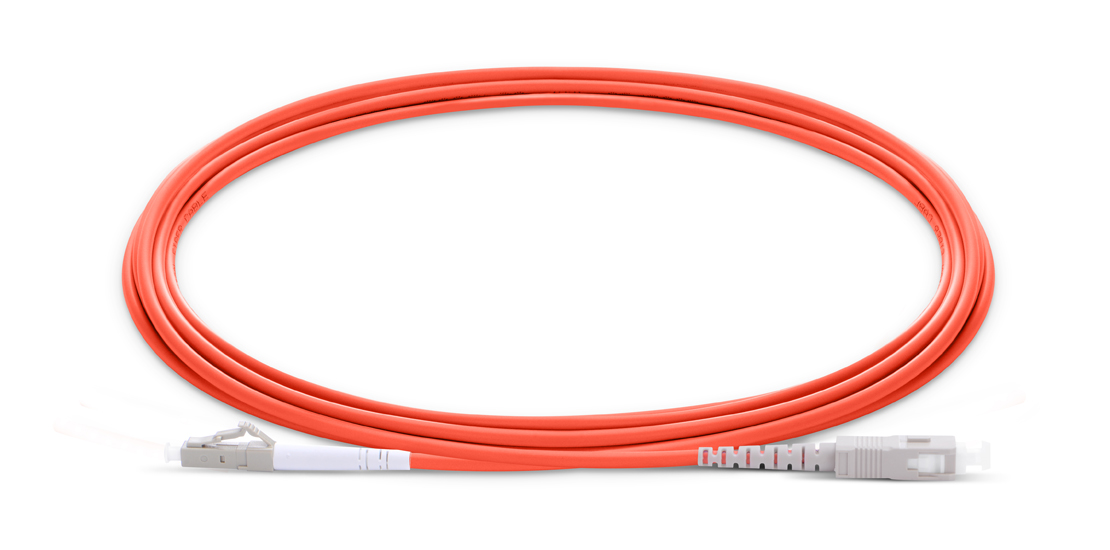Customized Standard Patch Cables  Industry Standard Flammability Rating OFNR (Riser) Jacket Fiber Optic Cable