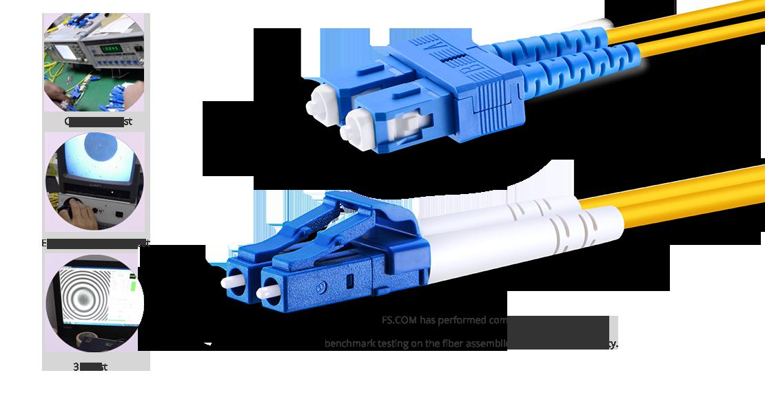 OS2 9/125 SMF Duplex  Die Garantie für hochwertige LWL-Patchkabel