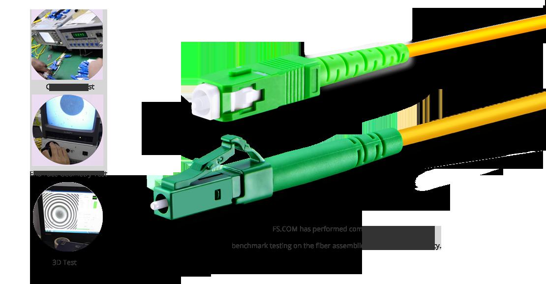 OS2 9/125 SMF Simplex  Garantie für hochwertiges LWL-Patchkabel
