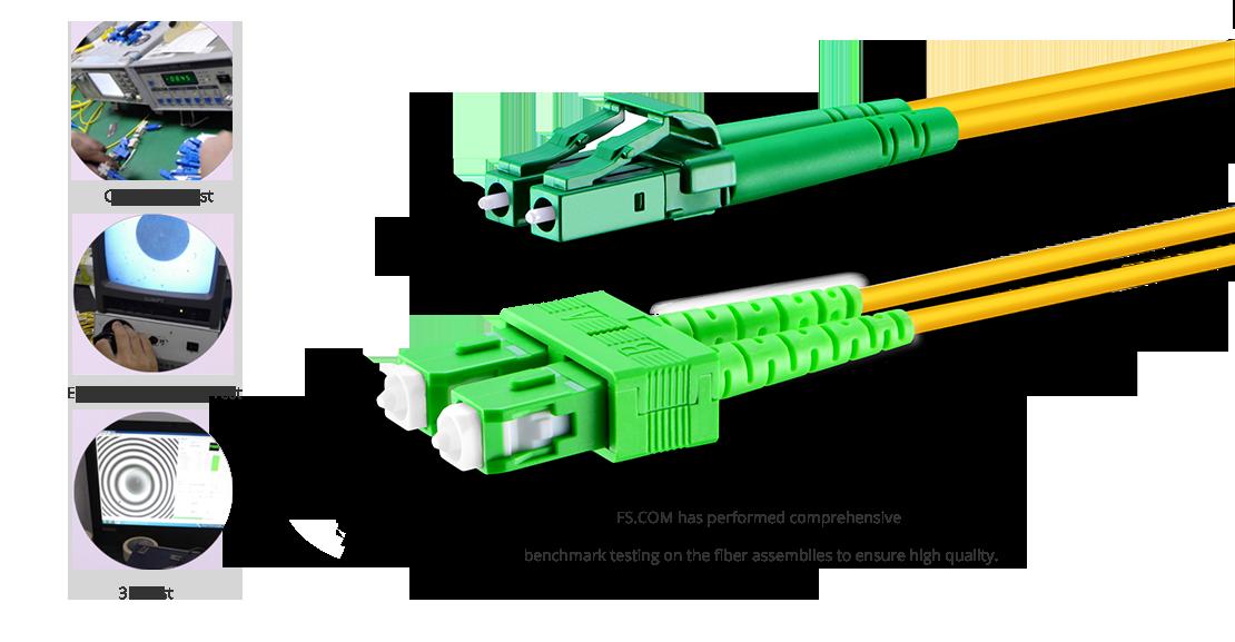OS2 9/125 Одномодовый Дуплекс  Гарантия Высококачественных Оптических Патч-Кордов