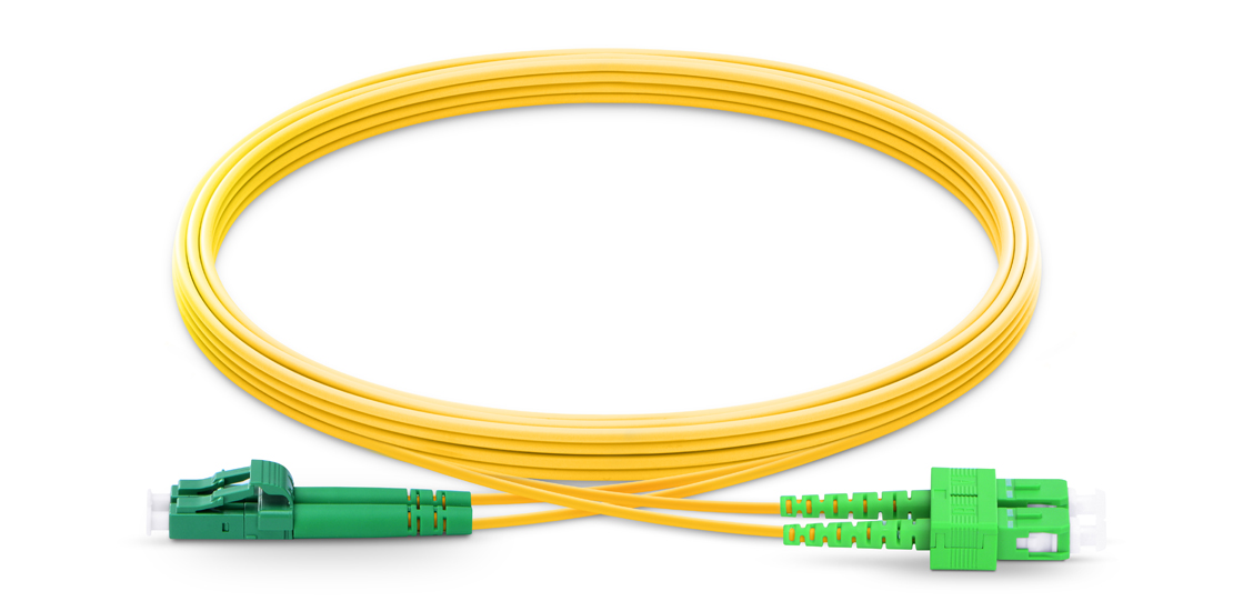 OS2 9/125 Single Mode Duplex  Industry Standard Flammability Rating OFNR (Riser) Jacket Fiber Optic Cable