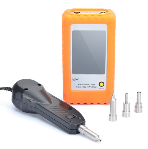 Fiber Optic Inspection Handheld Fiber Optic Inspection Probe Microscope with FT-Display Screen LCD