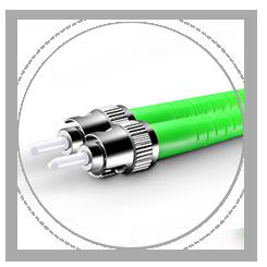 Cable fibra óptica OS2 monomodo dúplex 9/125 Virola de cerámica zirconia óptima IL y RL