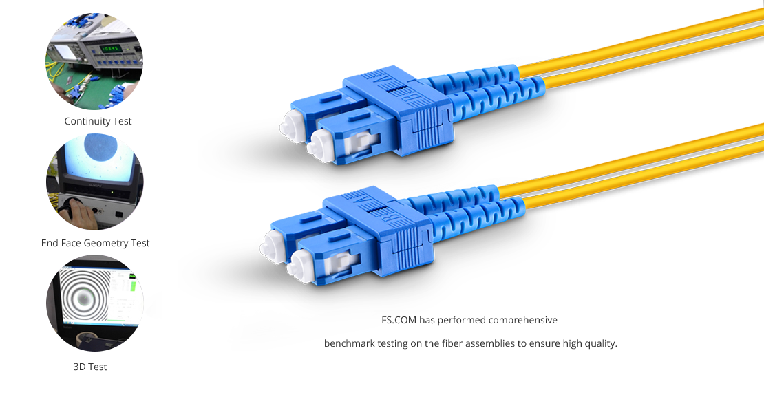 OS2 9/125 Single Mode Duplex  High Quality Fiber Optic Cable Guarantee