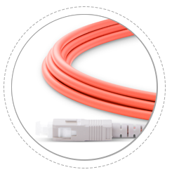 OM1/OM2 Multimode 2.0mm Cable Boot, Provides Maximum Protection
