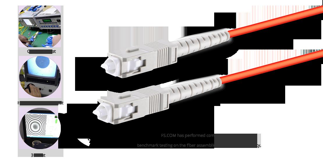 OM1/OM2 Multimode High Quality Fiber Optic Cable Guarantee