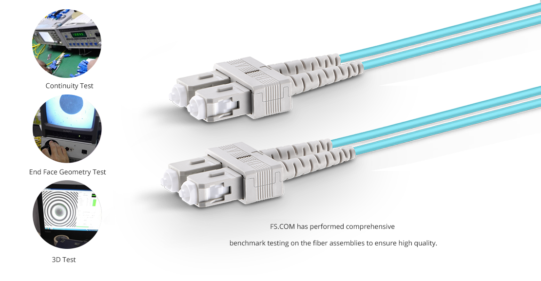 OM4 40 100Gb 50/125 Multimode  High Quality Fiber Optic Cable Guarantee