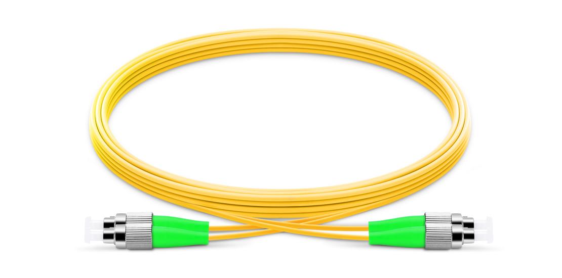OS2 9/125 Single Mode Duplex  Industry Standard Flammability Rating OFNR (Riser) Jacket Fiber Optic Cable