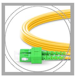 OS2 9/125 Одномодовый Дуплекс 2.0mm Кожух тросика, обеспечивает максимальную защиту