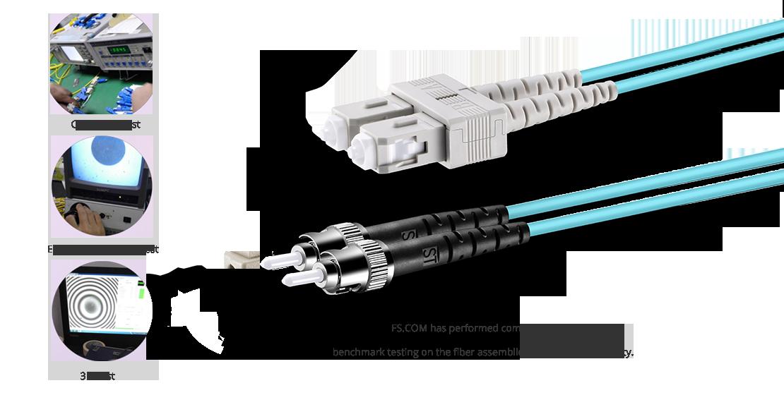 OM4 50/125 MMF Garantía de cable de fibra óptica de alta calidad