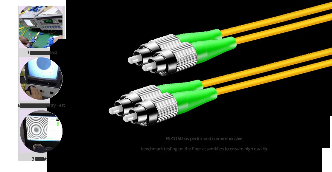 OS2 9/125 Single Mode Duplex  High Quality Fiber Optic Cable Guarantee