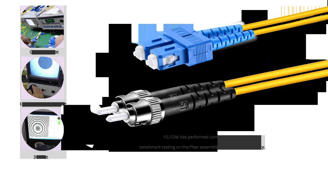 Cable fibra óptica OS2 monomodo dúplex 9/125  Garantía de alta calidad del cable de fibra óptica
