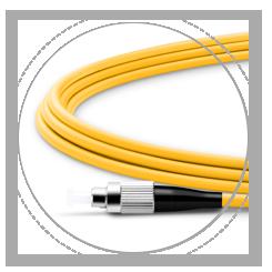OS2 9/125 SMF símplex 2.0mm bota de cable, proporciona máxima protección
