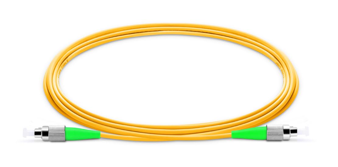 OS2 9/125 Single Mode Simplex  Industry Standard Flammability Rating OFNR (Riser) Jacket Fiber Optic Cable