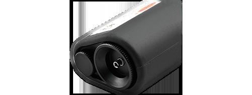 光ファイバ検査装置 3.2.5mm & 1.25mmファイバ用アダプタ付き