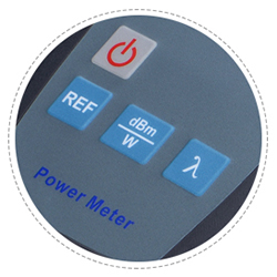 Optical Power Meter Dustproof Button Design
