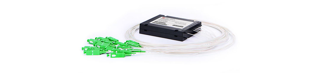 PLC ABS Splitter 1x4 Módulo de ABS splitter de PLC de fibra