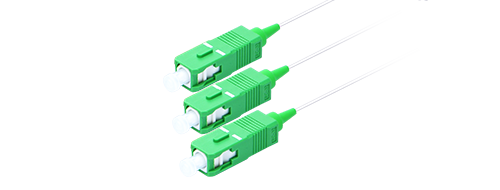 Blockless PLC Splitter 1x2 Splitting, SC/APC Connector