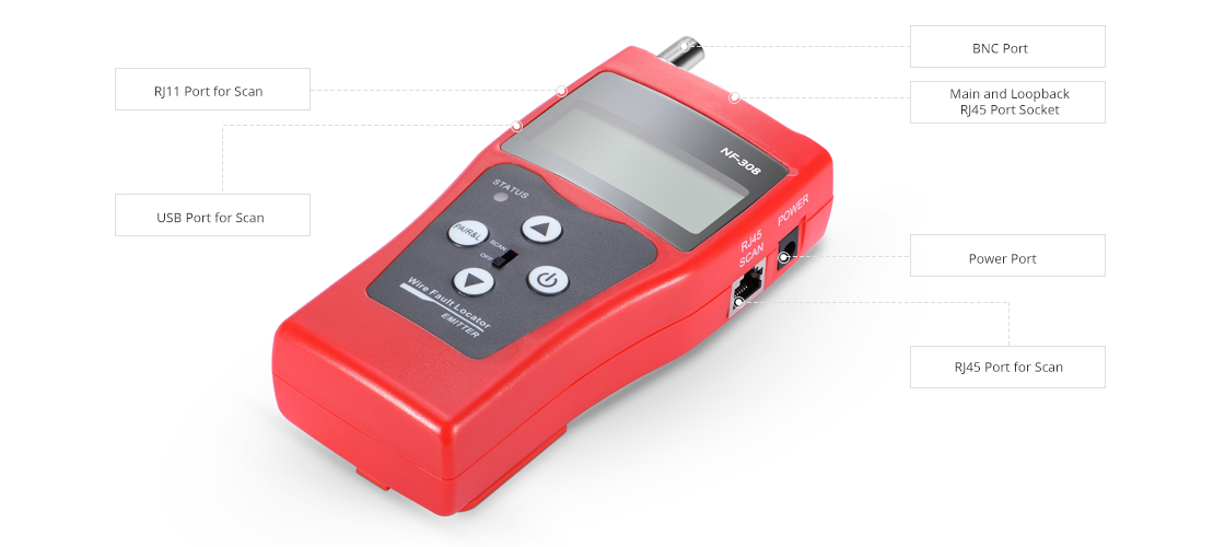 Network Cable Testers  Emitter