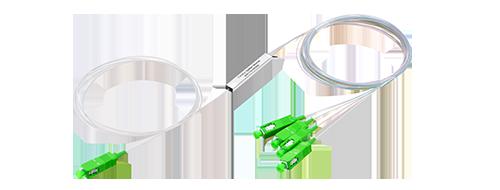PLC Splitter sin Bloqueo Estructura compacta