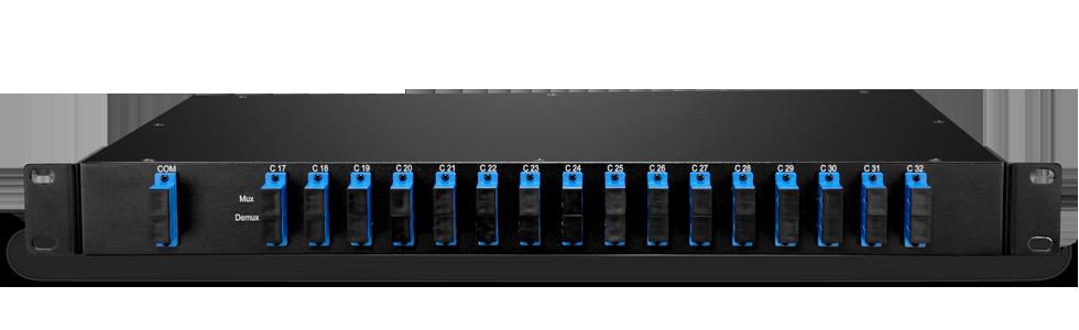 Customized Mux & Filter  Mux/Demux 16 Channels over Dual Fiber