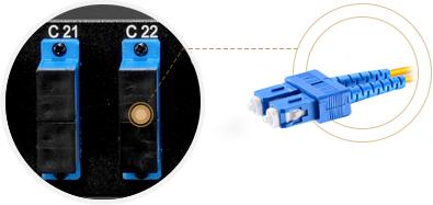Customized Mux & Filter  Duplex SC Client Ports