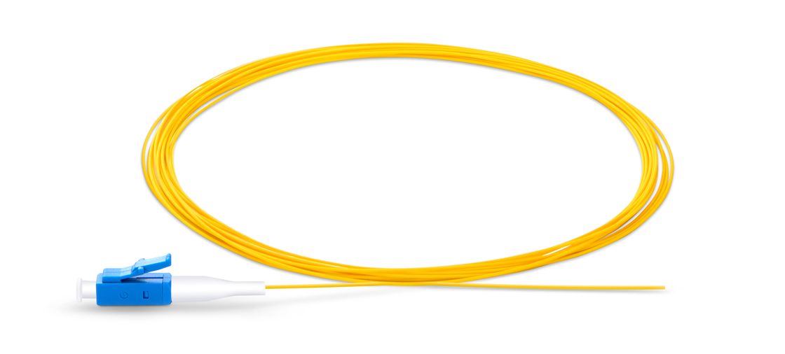 Standard 900μm Buffered Fiber Fiber Optic Pigtail - Ideal for Splicing