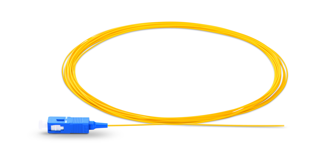 Standard 900μm Buffered Fibre  Fibre Optic Pigtail - Ideal for Splicing