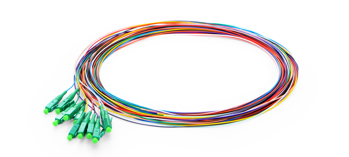 12  Fibres  Pigtails  Fiber Optic Pigtail - Ideal for Splicing