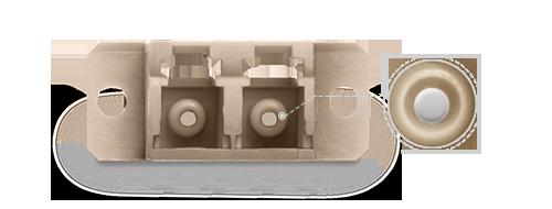 Оптические адаптеры/соединители Высокоточная керамическая втулка